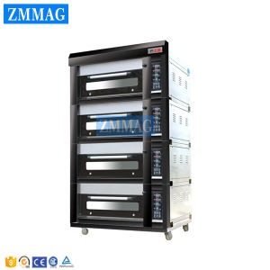 4 Decks and 20 Trays Gas Luxurious Deck Oven (ZMC-420M) pictures & photos