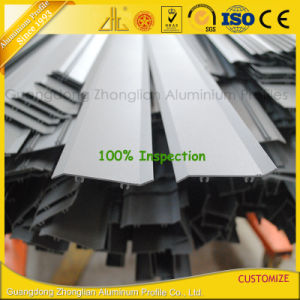 Powder Coated Aluminium Extrusion Profile for Outdoor Shutter/Louvers pictures & photos