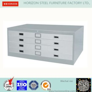 Steel File Storage Cabinet Office Furniture with 4 Drawers Plan Chest /Filing Cabinet for England Market pictures & photos