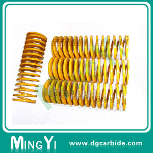Precision Green Heavy Load Nitrogen Gas Coil Extension Spring pictures & photos