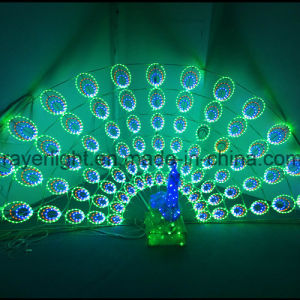 Dynamic Lighting LED Peacock Large Outdoor Decoration Lights pictures & photos