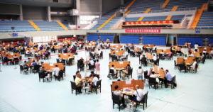 Folding Screen Table Set for Contract Bridge Tournament pictures & photos