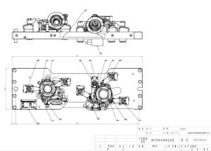 Worm Housing 4-Axis Hydraulic Fixture pictures & photos