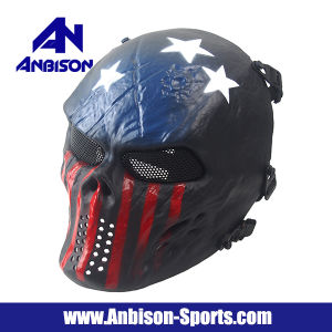 Outdoor War Games Tactical Cool Full Face Airsoft Mask pictures & photos