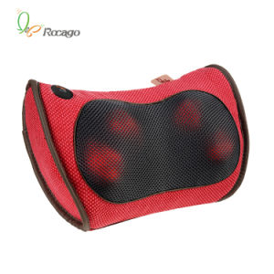 Infrared Heating Handheld Massage Pillow for Travel pictures & photos