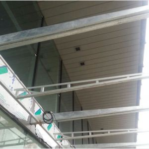 Metal Suspended G-Shaped Strip Ceiling with ISO for Exterior Decorative pictures & photos