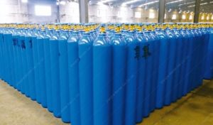 ISO Standard 40L/6m3 Oxygen Cylinder pictures & photos