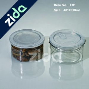 New Products Food Grade Pet Body PP Cap Plastic Square Jam Jars pictures & photos
