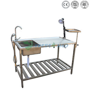 Veterinary Dissecting Table Animal Autopsy Table Pet Dissection Table pictures & photos