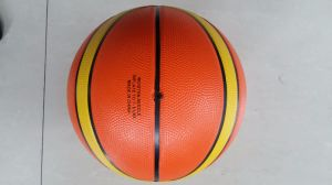 5# 12 Slices Rubber Outdoor Sport Basketball pictures & photos