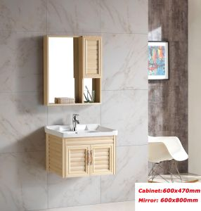 Beige Space Aluminum Cabinet for Bathroom (8100) pictures & photos