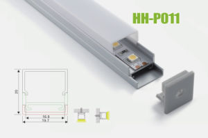 Hh-P011 Surface Mounted LED Aluminum Profiles pictures & photos