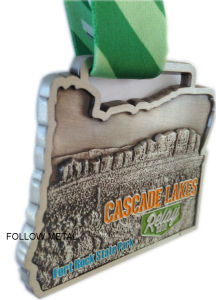 Marathon Medal for Cascade Lakes, Relay, Fort Rock State Park pictures & photos
