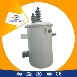 Single Phase 40kVA Pole Mounted Silicon Iron Core Transformer pictures & photos