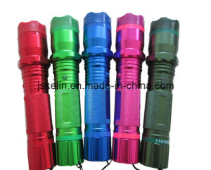 LED Flashlight Stun Gun (1101) Type for Self-Defense with RoHS pictures & photos