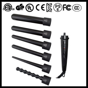 5 in 1 Ceramic Clipless Curling Iron Set (A125) pictures & photos