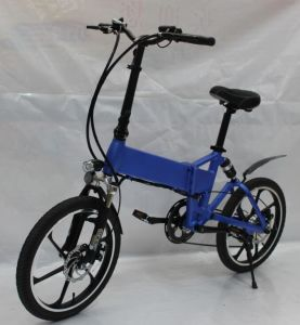 20 Inch Folding Electric E Bike with Battery Hidden pictures & photos