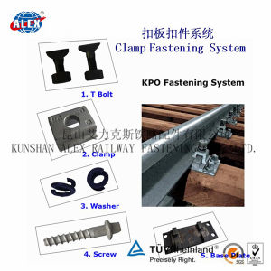 Kpo Rail Clamps in Q235 Material, Plain Oiled pictures & photos