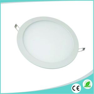 15W Ultra Slim Round Recessed LED Panel Lighting pictures & photos