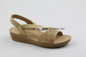 Open Toe Flat Heel Sexy Lady Shoes for Fashion pictures & photos