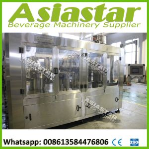 Fully Automatic Gas Water Filling Machine Carbonated Beverage Packing System pictures & photos