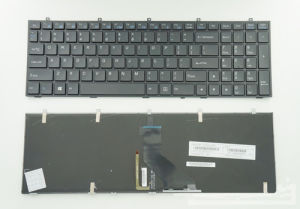 Laptop Keyboard/Mini Keyboard for Clevo W350 W370 W670 Us Keyboard pictures & photos