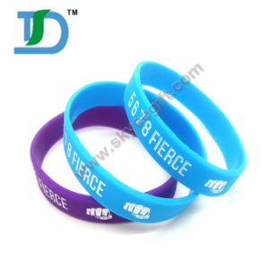 Super Star Sign Rubber Wristband Silicone Bracelet pictures & photos