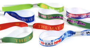 Fabric Bracelet Wristband for Promotion Gift pictures & photos