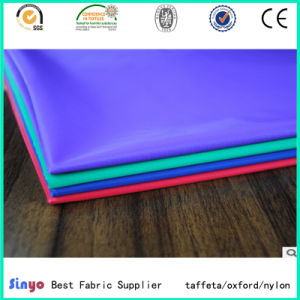 100% Nylon 420d Textile Fabric with Polyurethane Coating for Dress/Bags pictures & photos