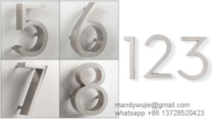 Small Stainless Steel Letters for Outdoor Signs pictures & photos