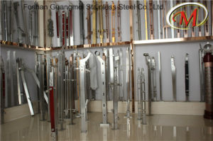 Glass Railing Use Stainless Steel Column pictures & photos