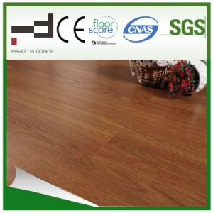 12mm Glossy Classical U Mould Brown Laminated Flooring pictures & photos