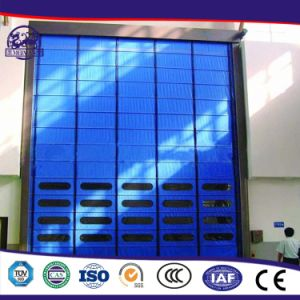Environmental Cheap Promotional China Auto Fabric Fast PVC Roll up Door pictures & photos