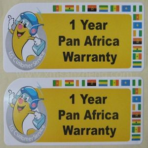 Good Quality Inventory Control Water Resistant Colorful Sticky Decorative Stickers pictures & photos
