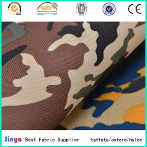 Digital Camouflage Printed 600d Polyester Fabric for Army Bags pictures & photos