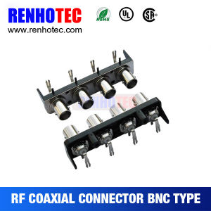 Multi Port BNC Female Connectors for PCB Mount pictures & photos