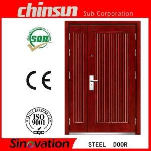 Low Price Steel Door with Ce and Modern Steel Door (SV-S113) pictures & photos