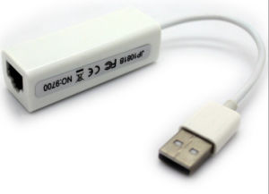USB 2.0 to Ethernet LAN Adapter 10/100 Mbps pictures & photos