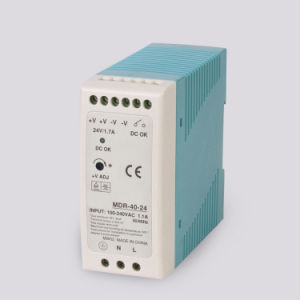 Mdr-40-24   20W 24V Single Output DIN Rail Power Supply pictures & photos
