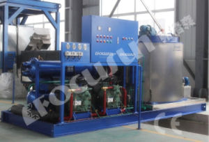 Mobile Fresh Water Containerized Flake Ice Machine pictures & photos