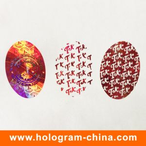 Custom 2D DOT Matrix 3D Laser Hologram Sticker pictures & photos