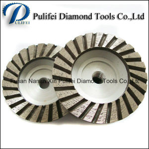 Concrete Tool Straight Diamond Segment Grinding Wheel Steel Aluminum Cup pictures & photos