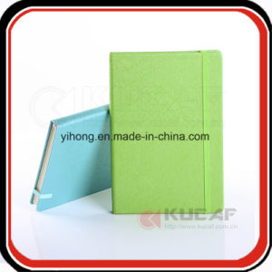 Custom Gift Elastic Closure PU Leather Jotter Lined Notebook pictures & photos