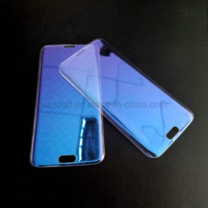 3D 9h Curved Edge Anti Blue Ray Tempered Glass Screen Protector for Samsung S7 Edge Toughened Glass Screen Guard pictures & photos