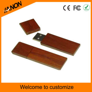 Environmental Dark Wooden USB Flash Drive pictures & photos