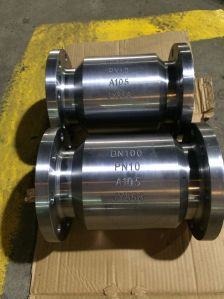 Forged Steel Flanged Trunnion Mouted Ball Valve with Worm Gear pictures & photos