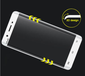 3D Curved Surface Full Covered Explosion-Proof Shatterproof Tempered Glass for Vivo Xplay5 pictures & photos
