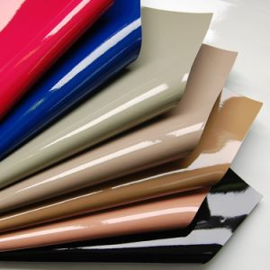 Waterproof PVC Sofa Leather Material with Print and Emboss pictures & photos