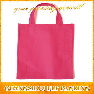Red Laminated Printed Grocery Shopping Bags (BLF-NW185) pictures & photos