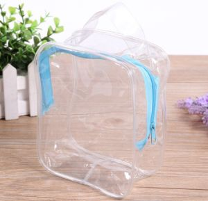 PVC Transparent Waterproof Zipper Cosmetic Bag Gift Bag pictures & photos